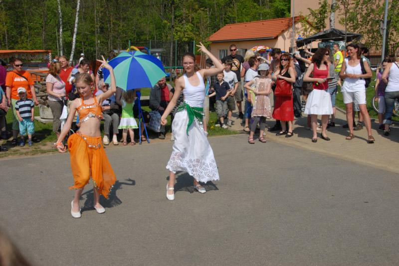 Orientální tanečnice I.